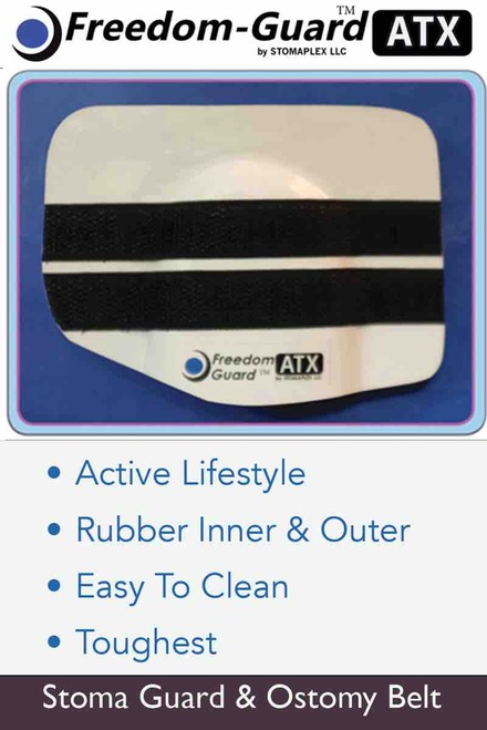 Stoma Guard  For Sports, Stomaplex Ostomy Belt, ostomy belt for sports, ostomy belts and wraps, ostomy exercise belt