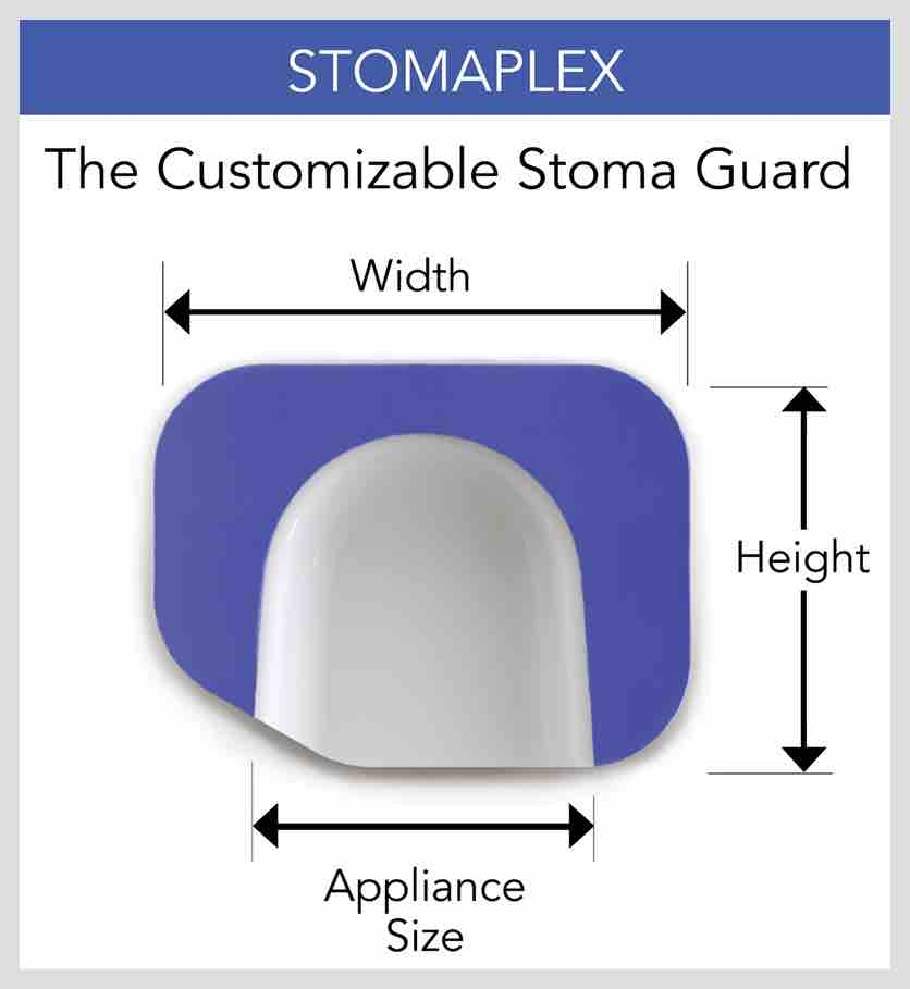 best stoma guard, custom stoma guard, DIY Stoma Guard