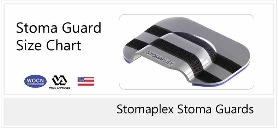 Stomaplex Stoma Guard - Live The Active Life - Follow to Size Chart
