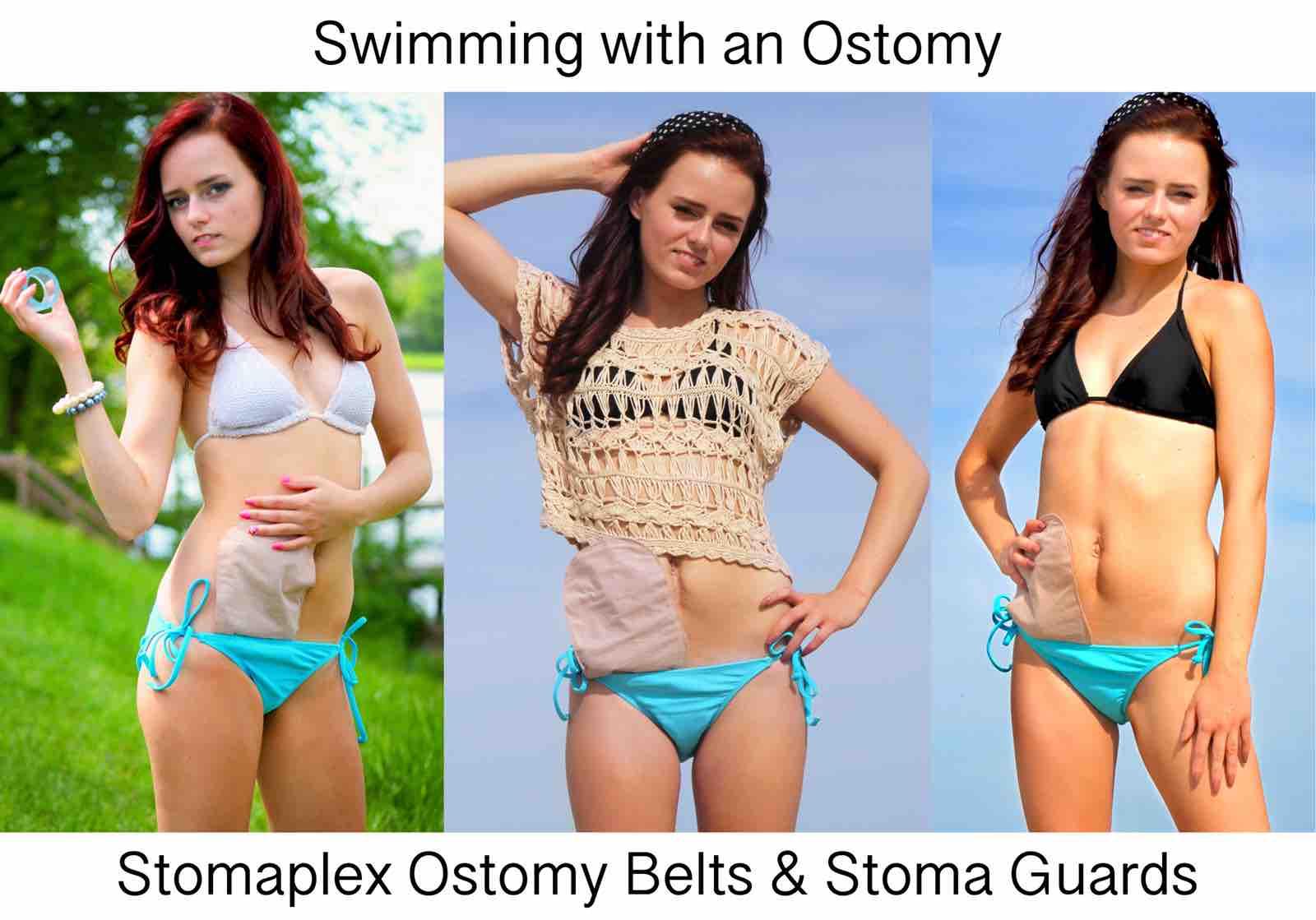 Ostomy Wraps for Swimming