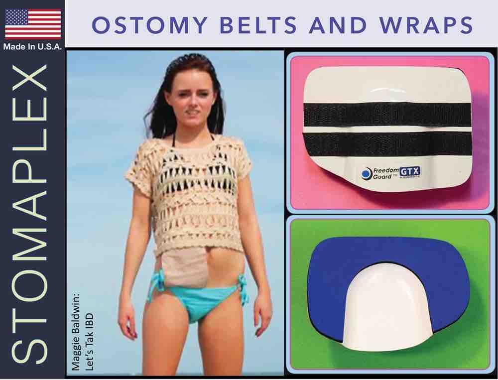 Ostomy Belts and Wraps, by Stomaplex Ostomy Belts