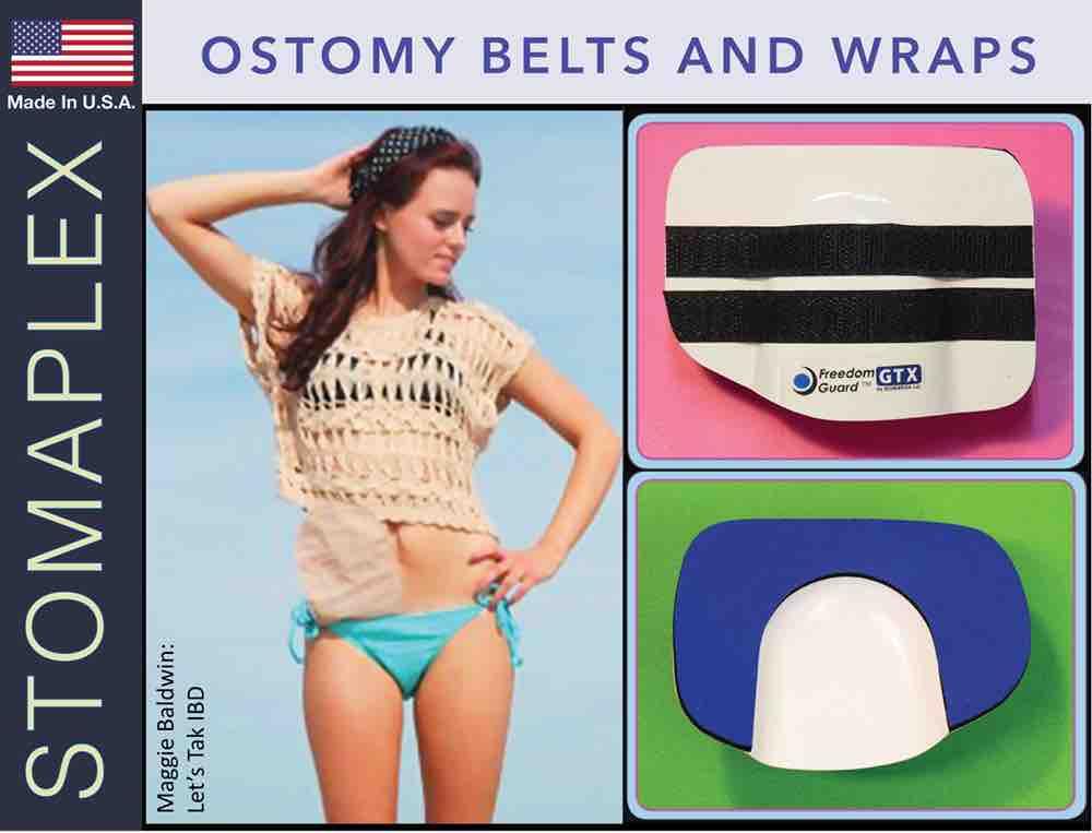 Ostomy Belts and Wraps, by Stomaplex Ostomy Belts, ostomy blue jean wrap, ostomy women, ostomy swim wrap. ostomy armor