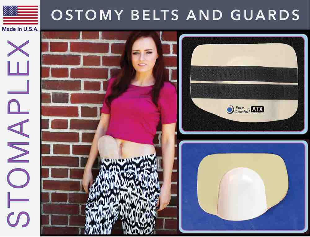 Ostomy Belts and Guard, by Stomaplex Ostomy Belts, stoma guard for martial arts, ostomy bag support belt