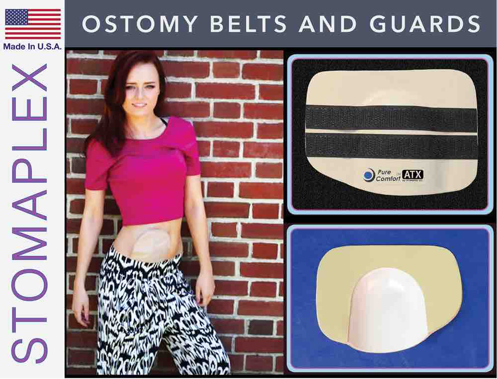 Ostomy Belts and Guard, by Stomaplex Ostomy Belts, stoma guard for police officer, ostomy bag support belt