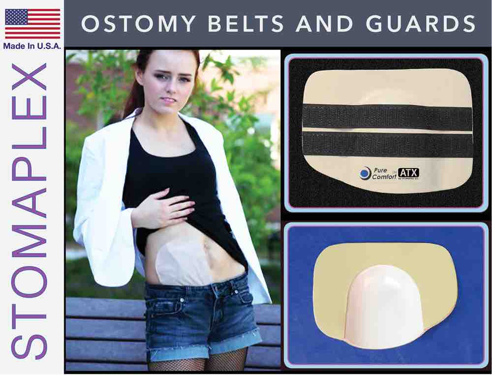 Ostomy Belts and Guard, by Stomaplex Ostomy Belts, stoma guard for running, ostomy bag support belt for running