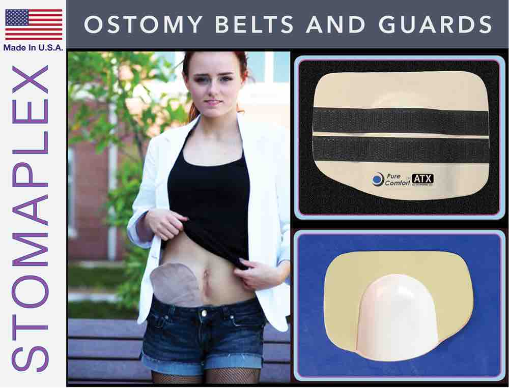 Ostomy Belts and Guard, by Stomaplex Ostomy Belts, stoma guard for swimming, ostomy bag support belt for running