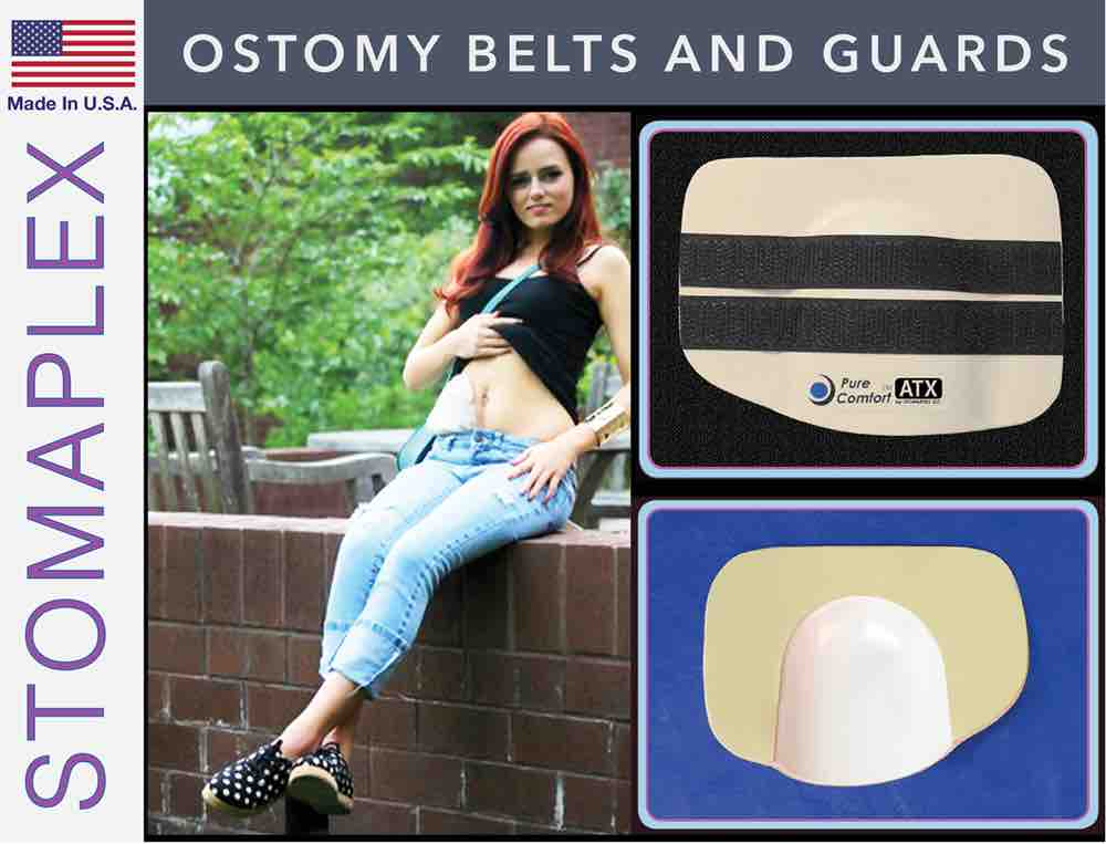 Ostomy Belts and Guard, by Stomaplex Ostomy Belts, stoma guard for running, ostomy bag support belt for review