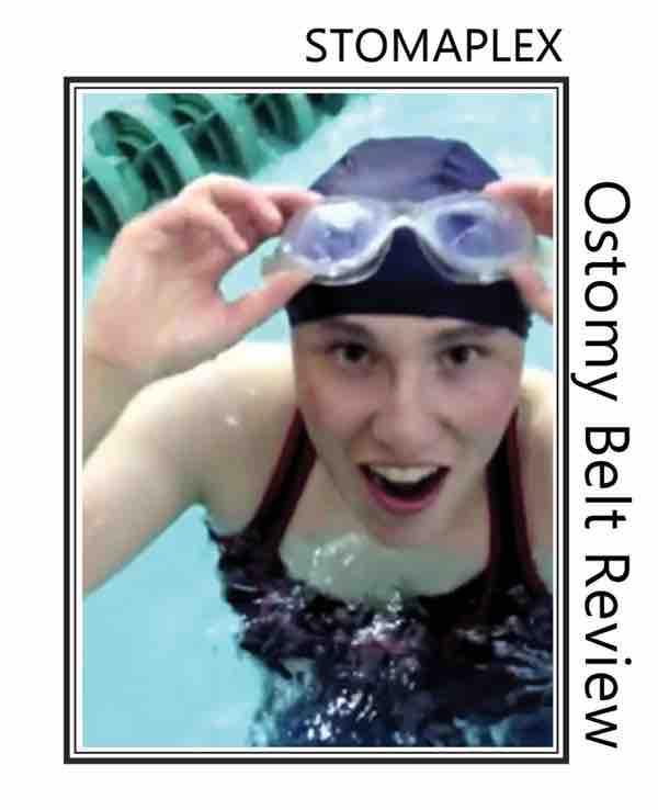 swim with an ostomy support belt