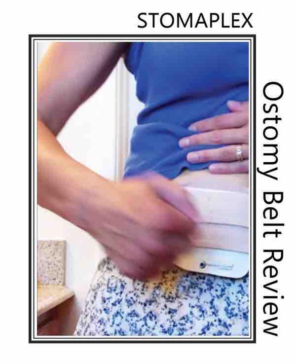 ostomy support belt as ostomy clothing her stoma.