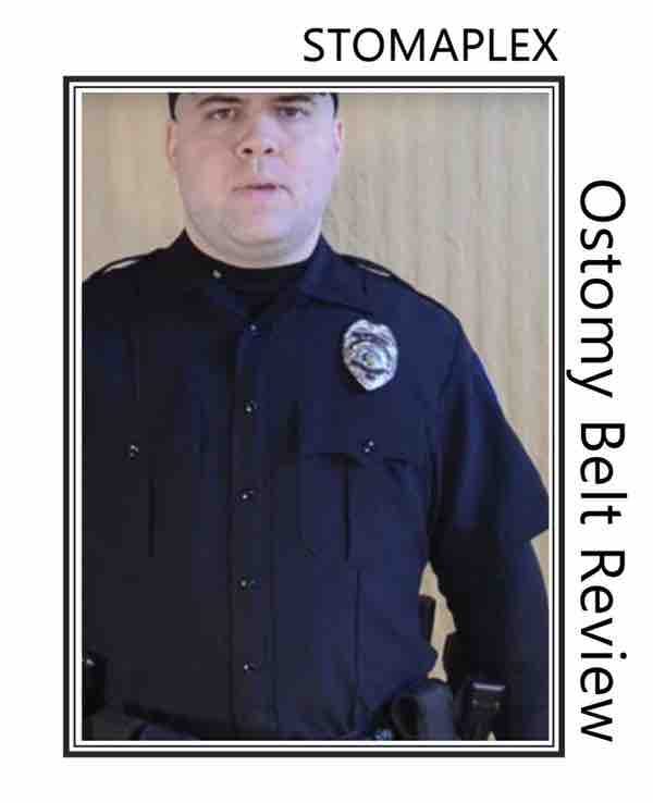 an ostomy police officers in law enforcement.