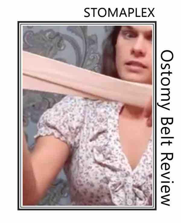 an ostomy belt for women.
