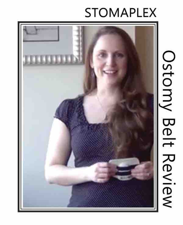 Ostomy analysis with an ostomy support belt