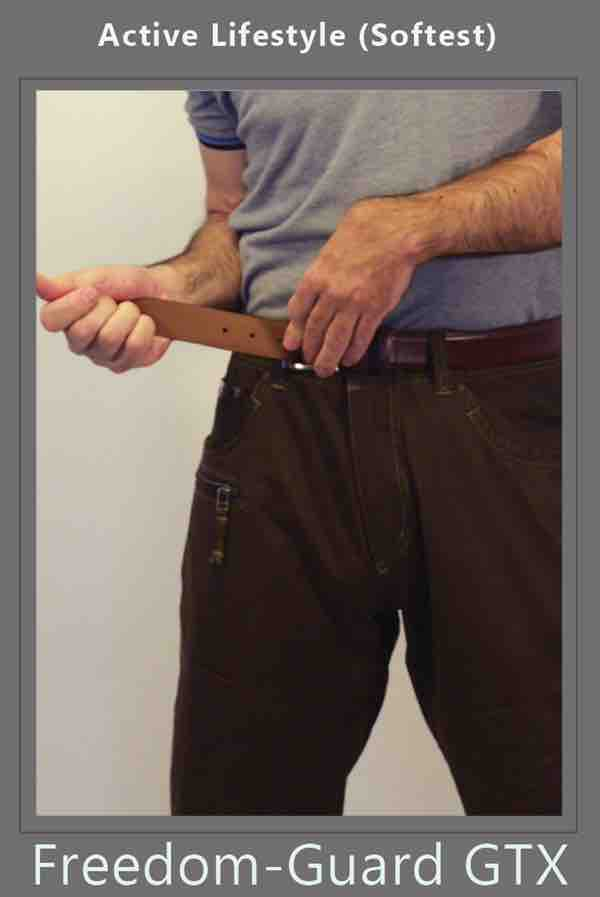 ostomy belt for ostomy protection from blue jeans and pants by stomaplex