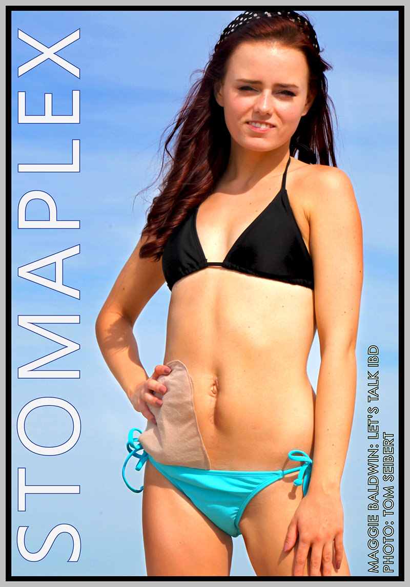 Swimming with an ostomy is fun and healthy. ostomy swimwear for women at the beach