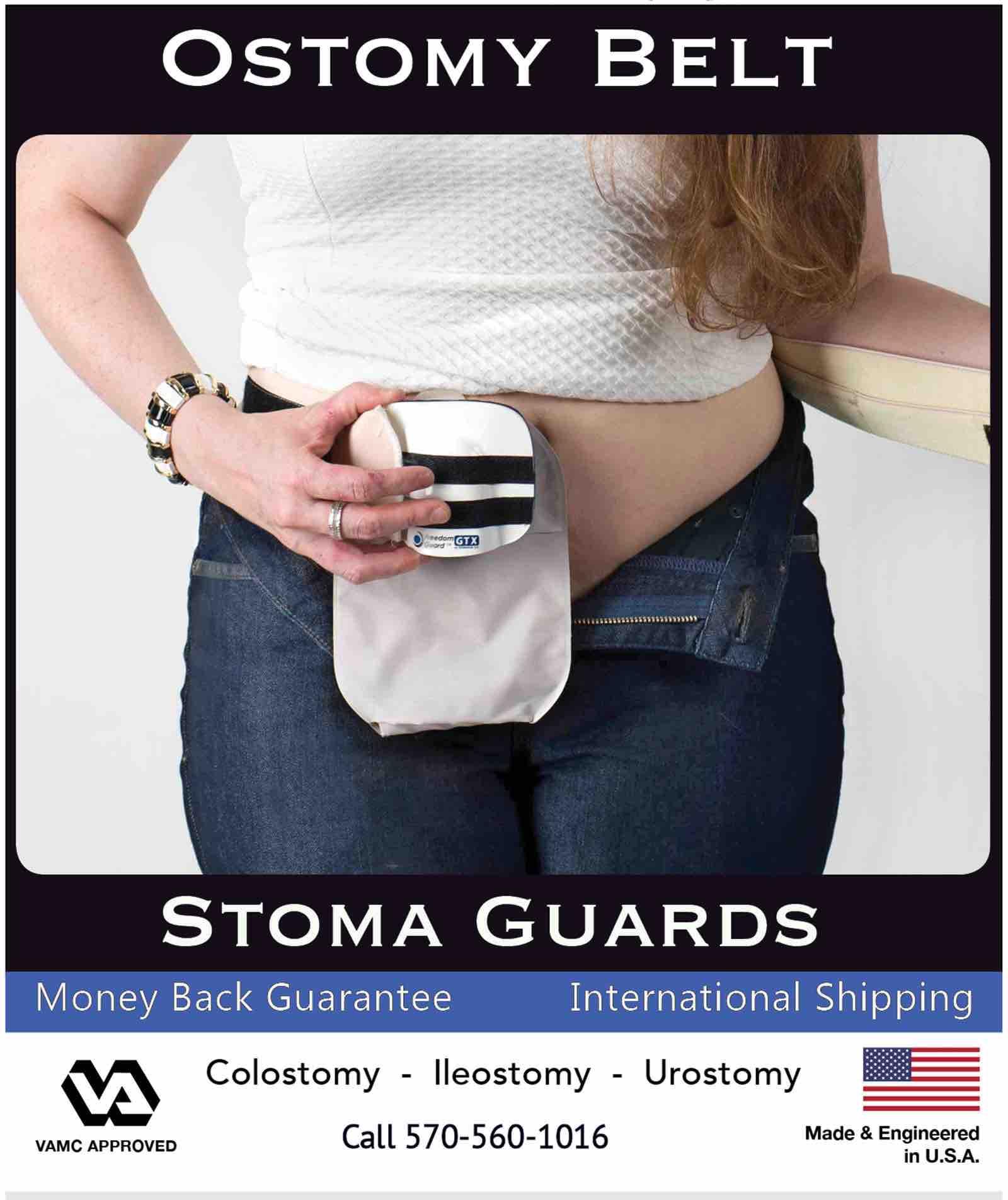 Ostomy Belt Stoma Guard Stomaplex
