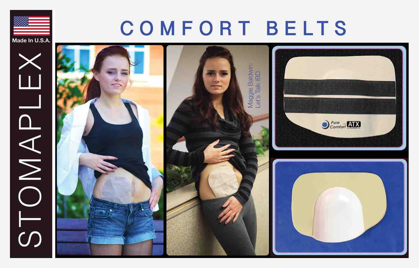 comfort ostomy belt