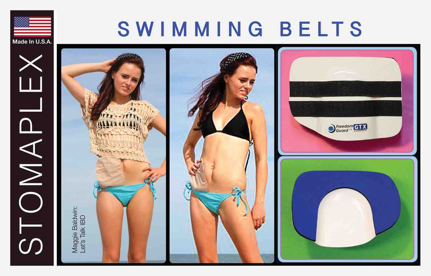 ostomy swim belt, ostomy swim wrap