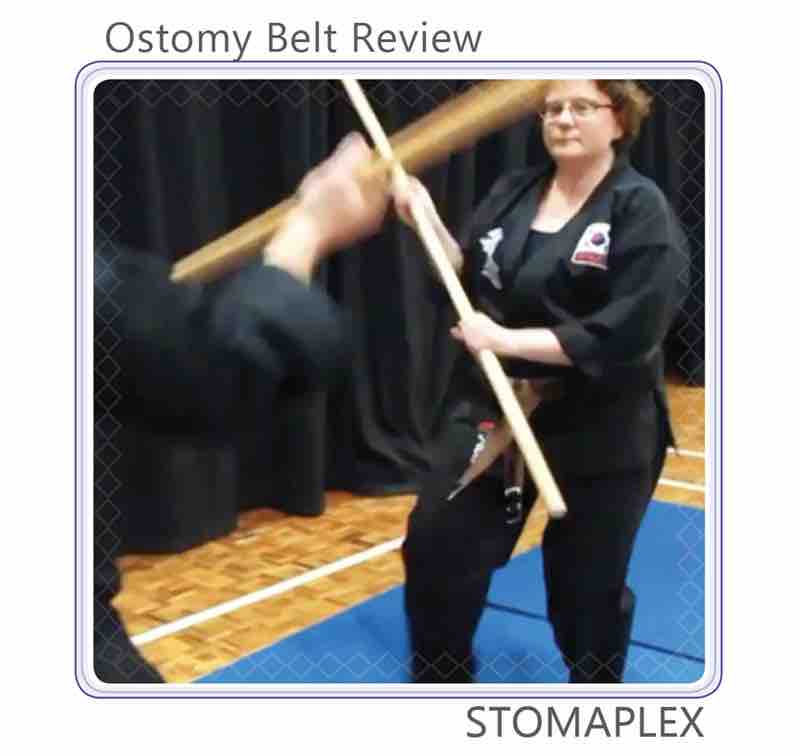 Ostomy belt review of Stomaplex ostomy belt for martial arts