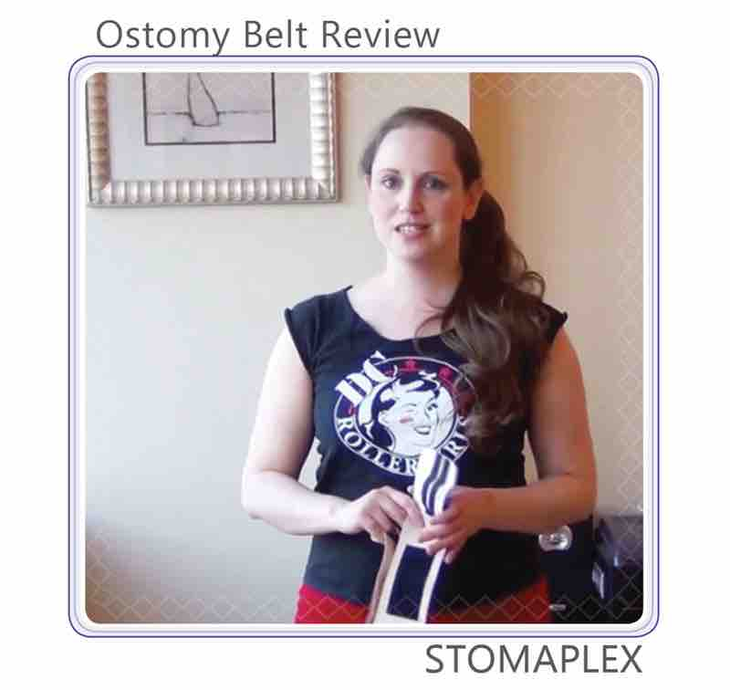 Ostomy belt and stoma guard review on youtube