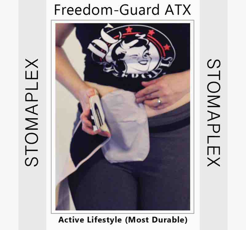 find the best size stoma guard for her stoma