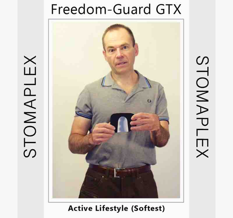 Do it yourself and design your own stoma guard