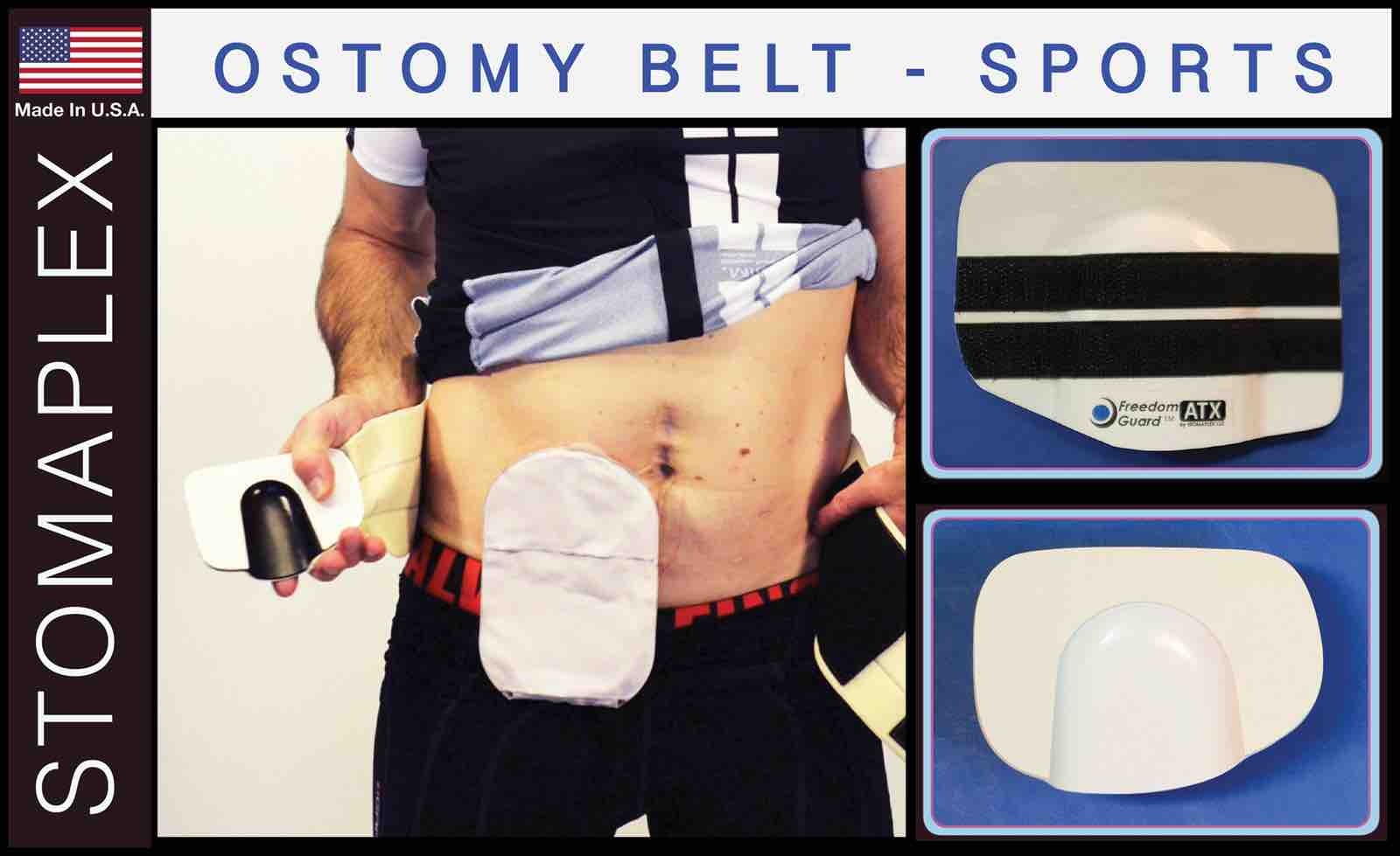 ostomy support belt, Ostomy Belt Men, stoma protector, stoma guard