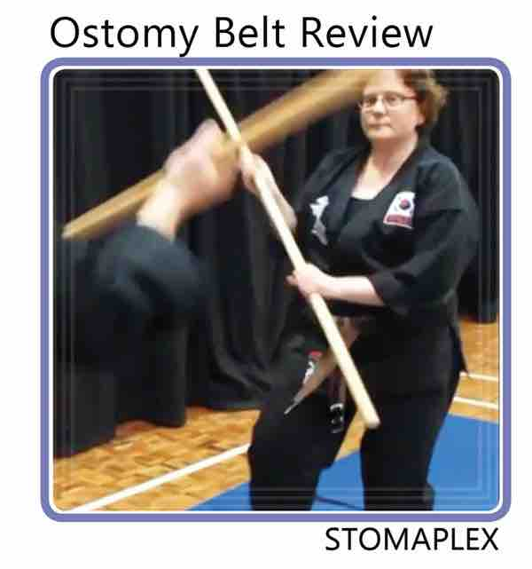Ostomy Belt For Women: Martial Arts Stoma Guard - Video