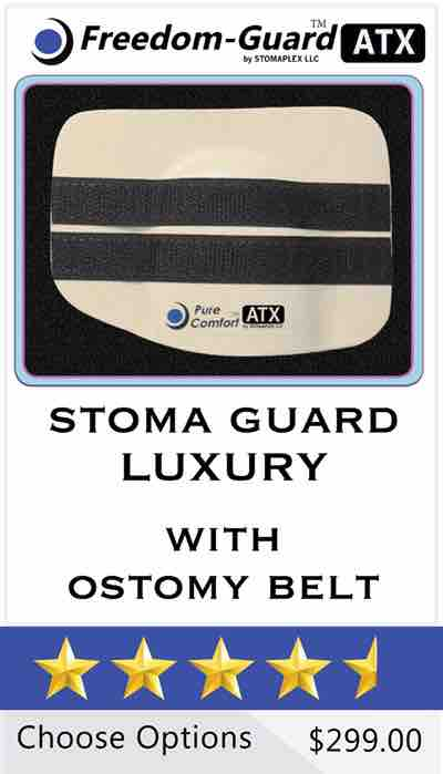 Stomaplex Stoma Guard: Pure-Comfort ATX Stoma Guard