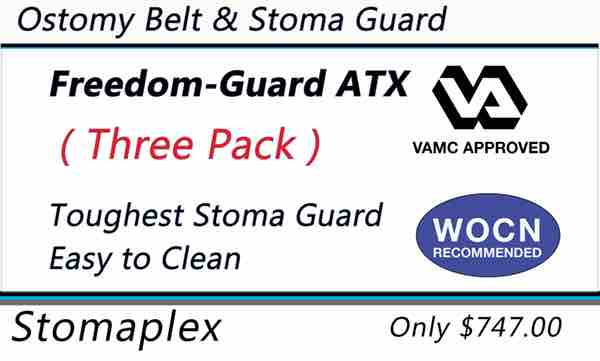 Veterans with an ileostomy, colostomy, or urostomy and who want the best stoma guard on the market for ostomy sports should choose the Freedom-Guard.