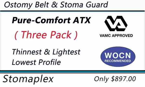 Veterans with an ileostomy, colostomy, or urostomy and who want the best stoma guard on the market should choose the Pure-Comfort.