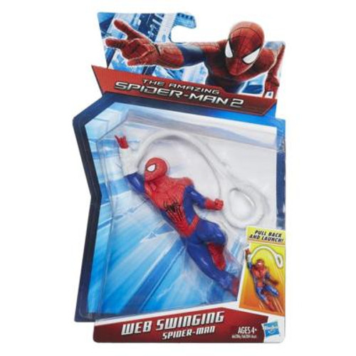 THE AMAZING SPIDER-MAN 2 WEB SLINGING SPIDER-MAN FIGURE