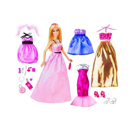 Barbie Glam Fashion Collection Doll