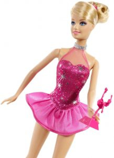 Barbie Career Fashion Doll Ice Skater
