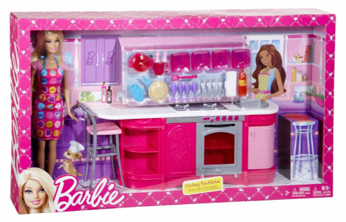 Barbie Cooking Fun Kitchen Iknowmytoys Com