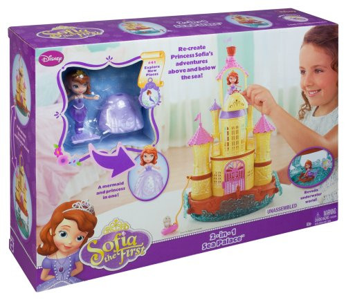 Disney Sofia The First Vacation Palace Playset