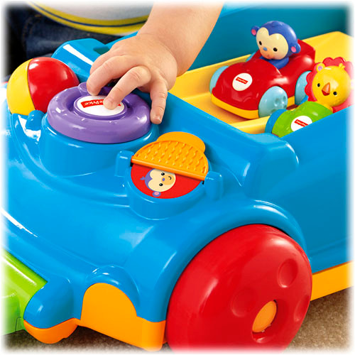 Two modes of play grow with baby and help develop gross motor skills