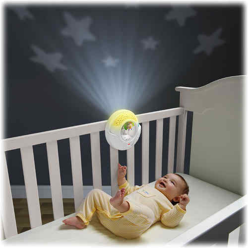 Up to 30 minutes of soothing music & lullabies.