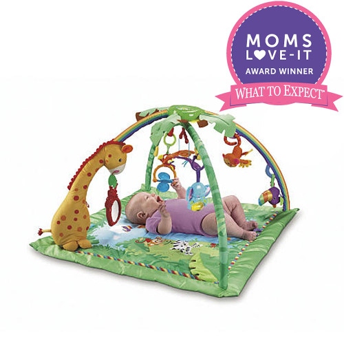 Rainforest Melodies & Lights Deluxe Gym