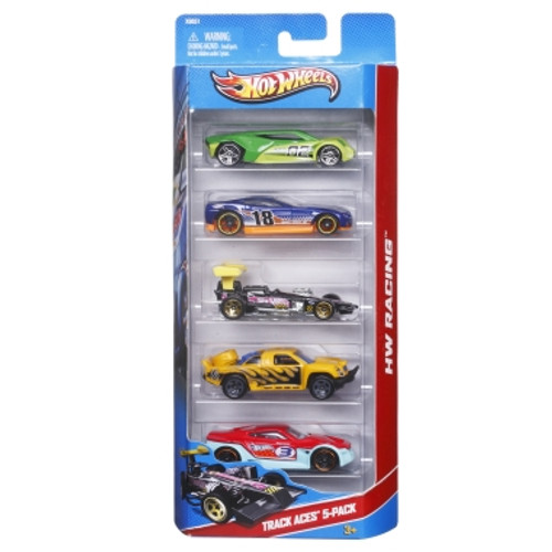 Hw Five-Car Gift Pack Asst
