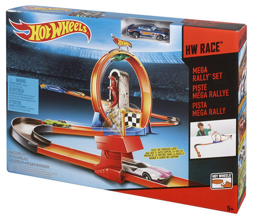 Hotwheels 3 In 1 Track Assorted