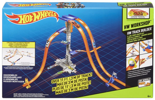 Hot Wheels Track Builder 5-Lane Tower Set