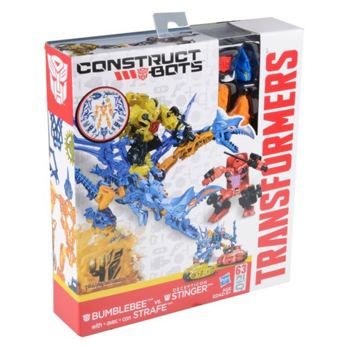 Transformers Construct-Bots Bumblebee Vs Stinger