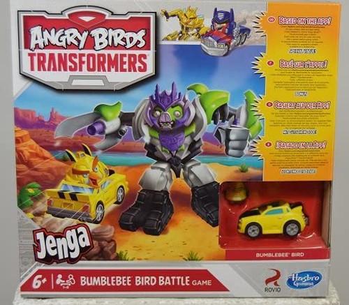 Angry Birds Jenga Bumblebee Battle Game