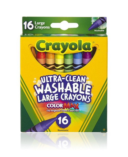 16 ct Ultra Clean Washable Crayons