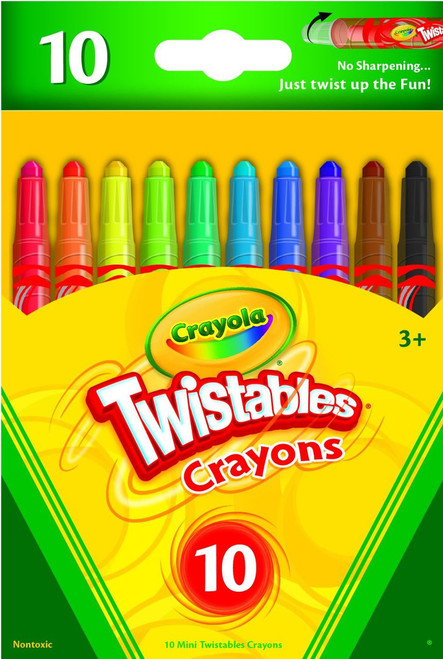 10ct Mini Twistables Crayons