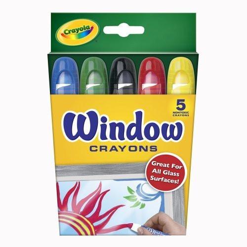 5ct Window Crayons
