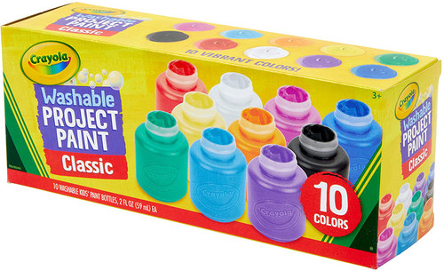 Washable Project Paint-Classic 10ct. 2oz.