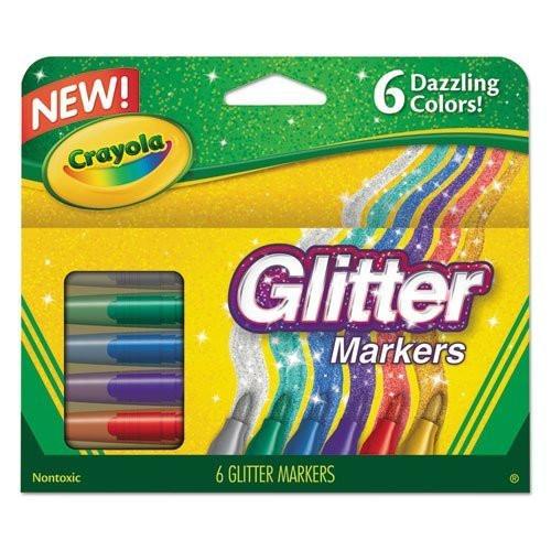 6ct Glitter marker - New