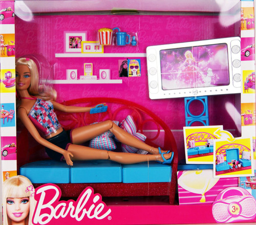 Barbie Living Room with Accessories