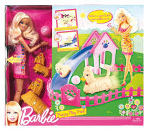 Barbie® Puppy Play Park™